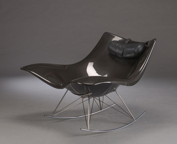 Gungstolen / Rocking chair,  Fredericia Furniture Stingray - Thomas Pedersen