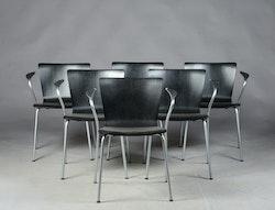 Stolar, Fritz Hansen Vico Duo - Design Vico Magistretti