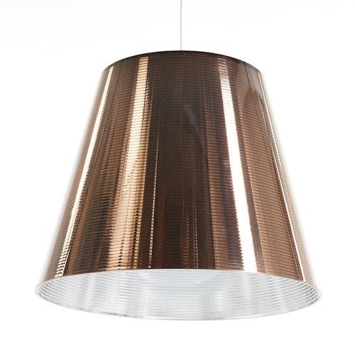 Taklampa, FLOS K-Tribe S3 Brons - Philippe Starck