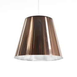 Taklampa, FLOS K-Tribe S3 Brons - Philippe Starck