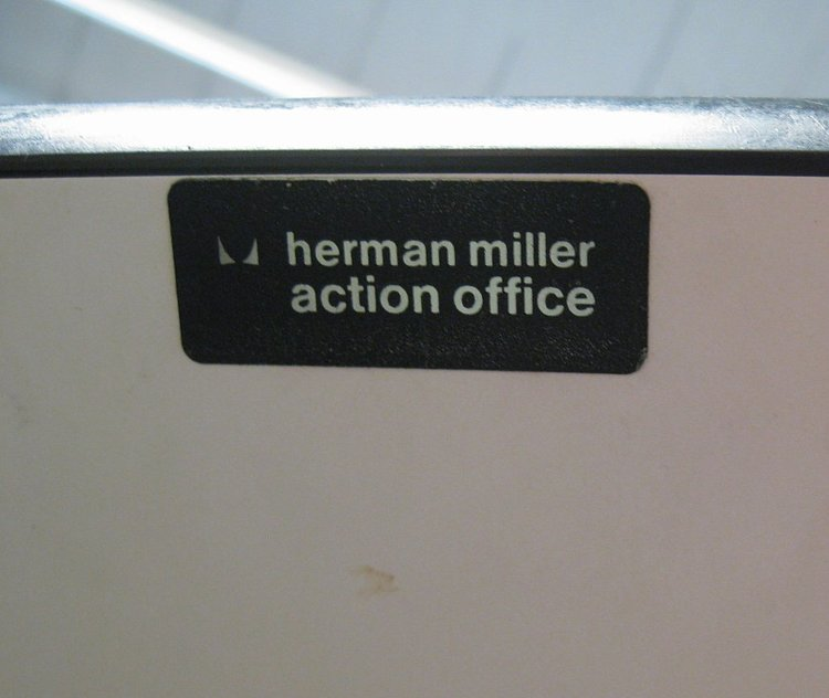 Skrivbord, Herman Miller Action Office 1220 - George Nelson