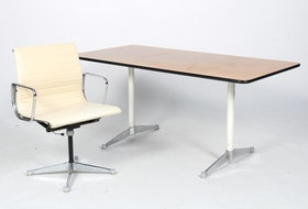Grupp, Herman Miller/Vitra, EA-108 & Segmented Table - Charles & Ray Eames