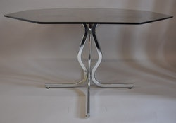 Matbord, Willy Rizzo Table - Glasbord