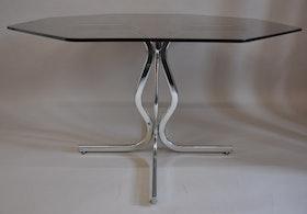 Matbord, Willy Rizzo Table - Glasbord