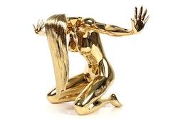 """Robbi Jones """"Vivien"""" - Polerad mässing Erotisk skulptur 48 cm"""