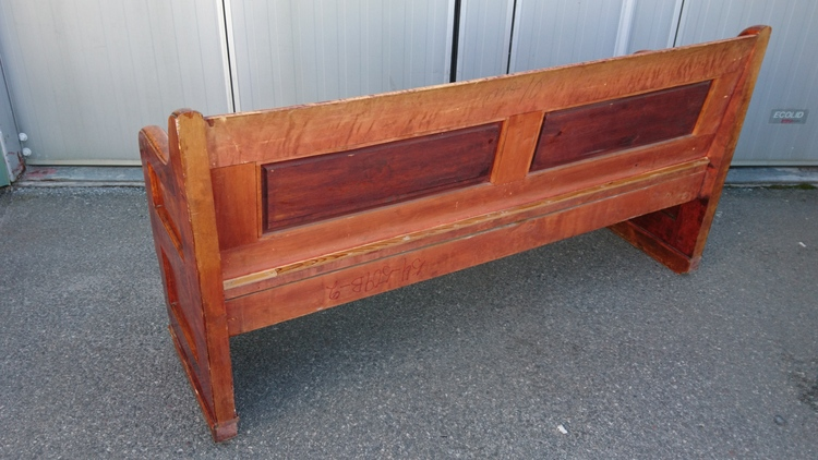 Kyrkbänk / Church Pew No. 1 - 174 cm