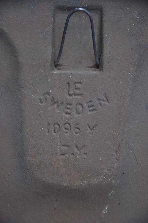 Väggplatta, UE Sweden 1096 Y Irma Yourstone Tupp & Höna No. 3