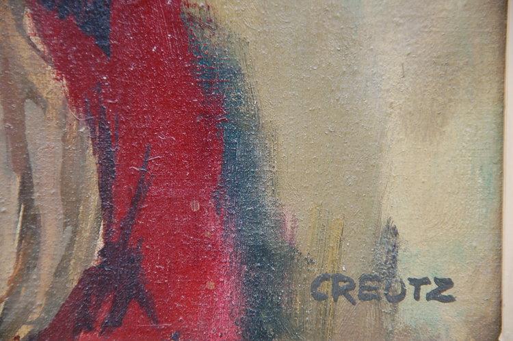 Oljemålning, Magnus Creutz Sign. Creutz