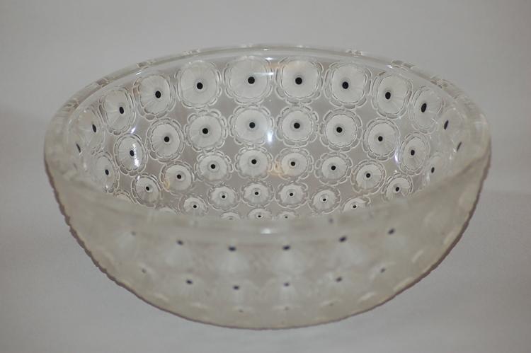 Lalique Crystal Nemours 11010 Skål