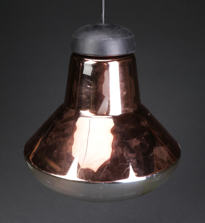 Taklampa från Tom Dixon - Copper Blow Light