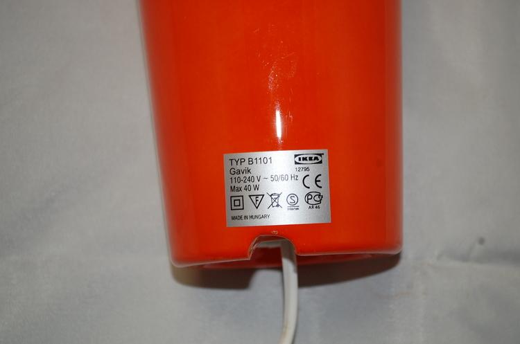 Pendlar, Orange IKEA Gavik
