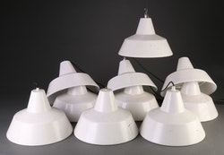 Louis Poulsen industrilampa - Vit