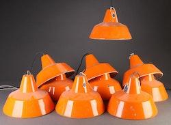 Louis Poulsen industrilampa - Orange