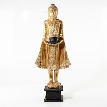 Skulptur i trä - Thailand - 88 cm
