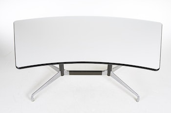 Skrivbord, vintage Herman Miller Segmented Table - Eames