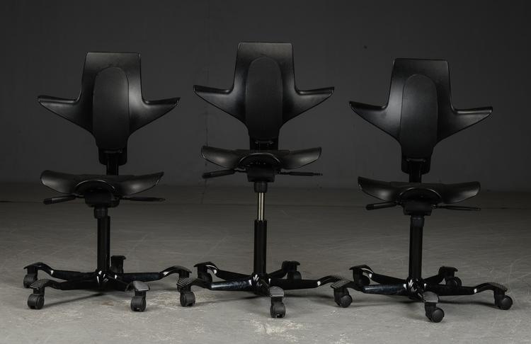 Skrivbordsstol, HÅG Capisco  Puls 8010 - Svart - Peter Opsvik