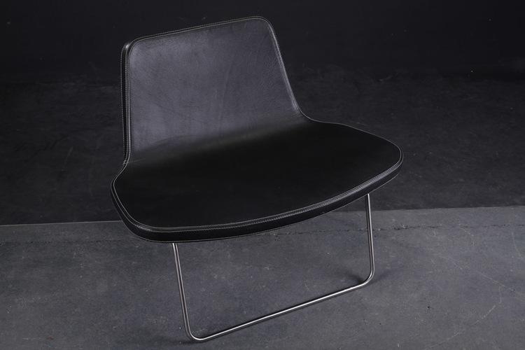 Loungefåtölj, HAY Ray Lounge Chair - Design Jakob Wagner