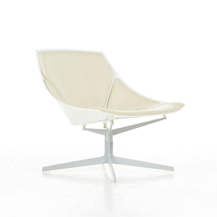 Loungefåtölj, Fritz Hansen Space JL10 Lounge Chair - Design Jehs & Laub