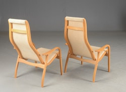 Fåtölj, Swedese Lamino - Design av Yngve Ekström