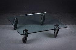 Soffbord, Fontana Arte Tavolo Con Ruote - Design Gae Aulenti