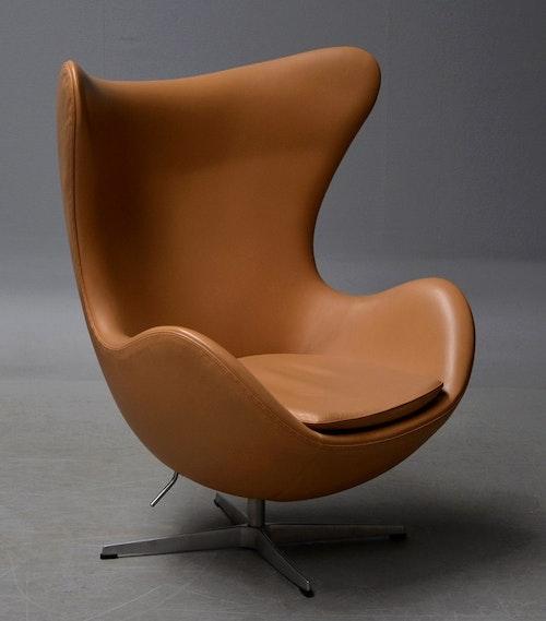 Loungefåtölj, Fritz Hansen Ägget 3316 - Arne Jacobsen
