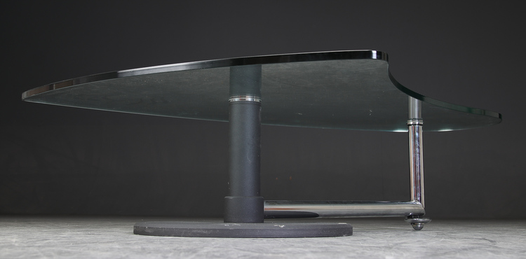 Soffbord från Rolf Benz med glasskiva - 157 cm