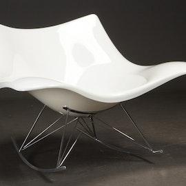 Gungstol, Stingray Fredericia Furniture - Vit