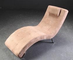 Schäslong i alcantara - 165 cm