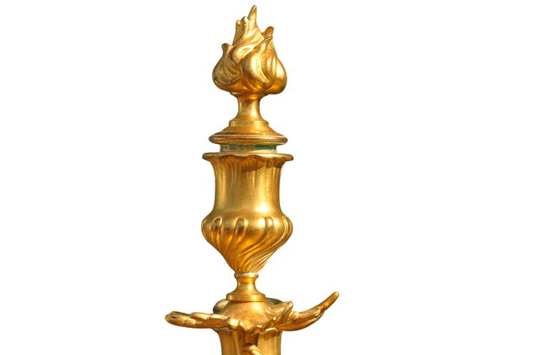 Kandelaber, Ferdinand Barbedienne - Brons 8,9 kg