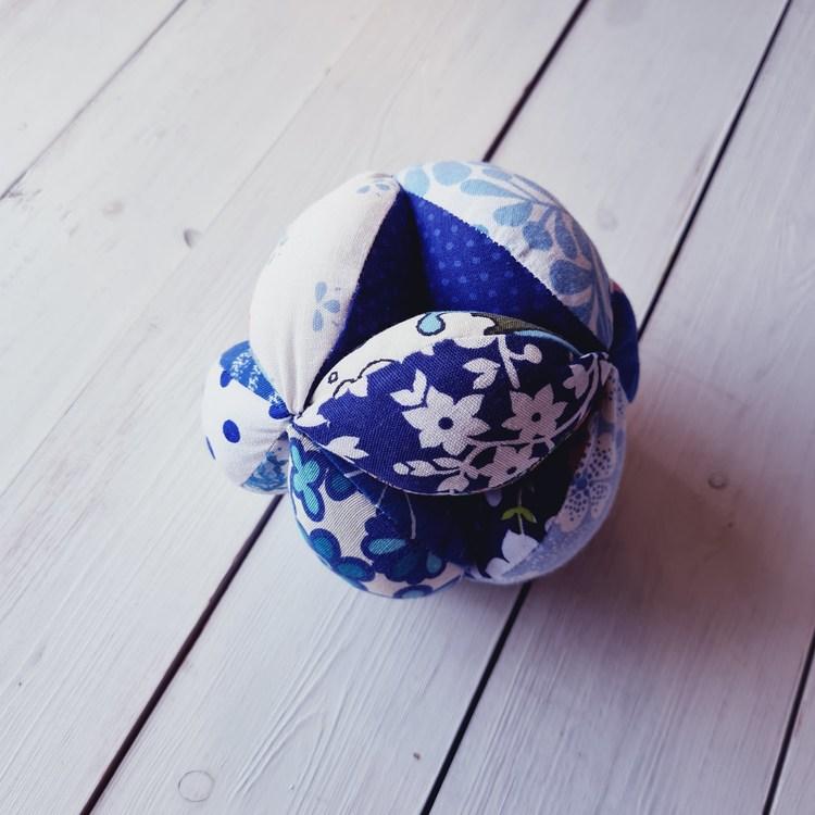 Gripboll blå