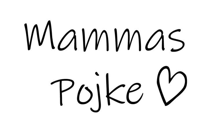 Mammas/Pappas Flicka/Pojke - Textiltryck -