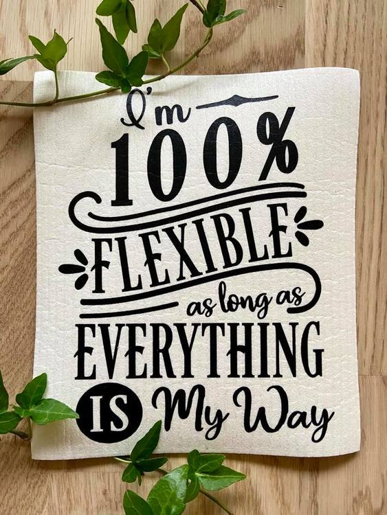 Disktrasa - I'm 100% flexible as long as everything is my way -