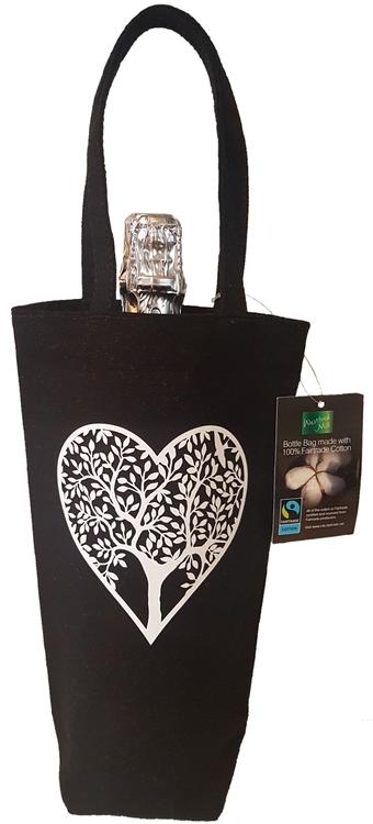 Flaskpåse - Kärlekens träd -