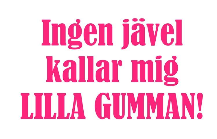 Lilla Gumman - Textiltryck -