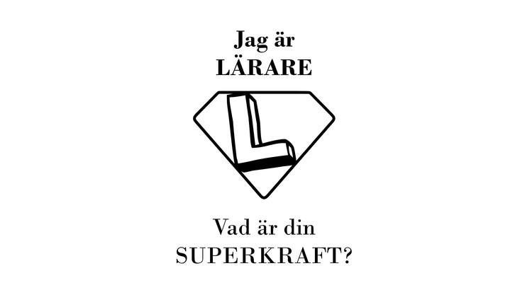 """Tygkasse """"Jag är ... Vad är din SUPERKRAFT?"""""""