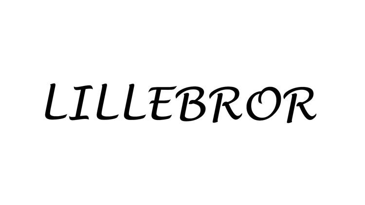 Storasyster/Lillasyster/Storebror/Lillebror - Textiltryck -