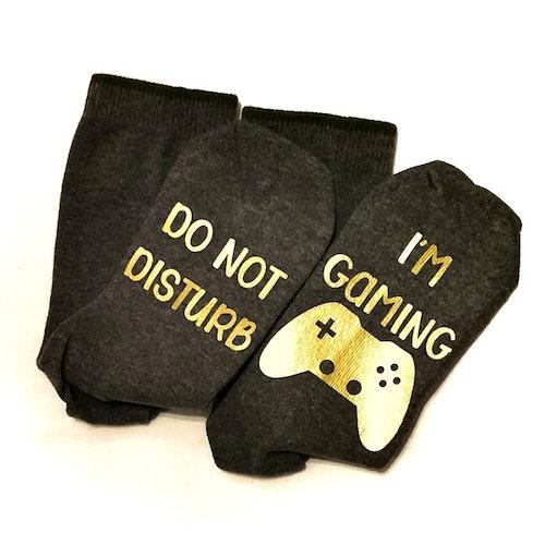 - Textiltryck - Do not disturb I'm Gaming