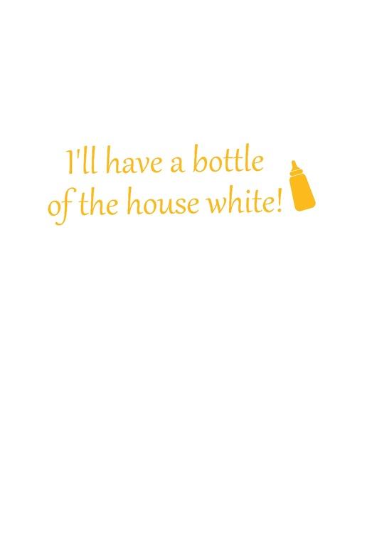 "Body med tryck ""The House White"""