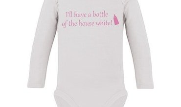 "Body med tryck ""The House White"""