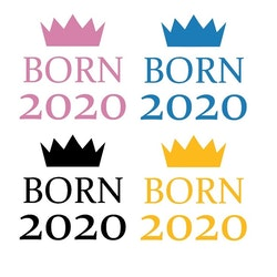 Born 2020 -Textiltryck-