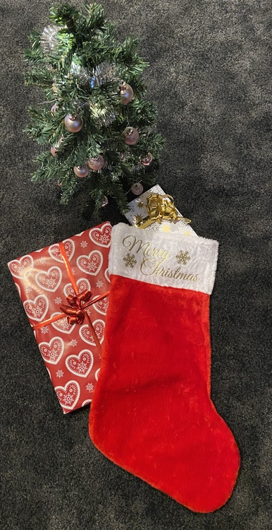 "Julstrumpa ""Merry Christmas"""
