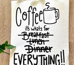 Disktrasa - Coffee is whats for ... everything!! -