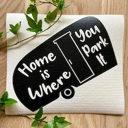 Disktrasa - Home is where you park it -