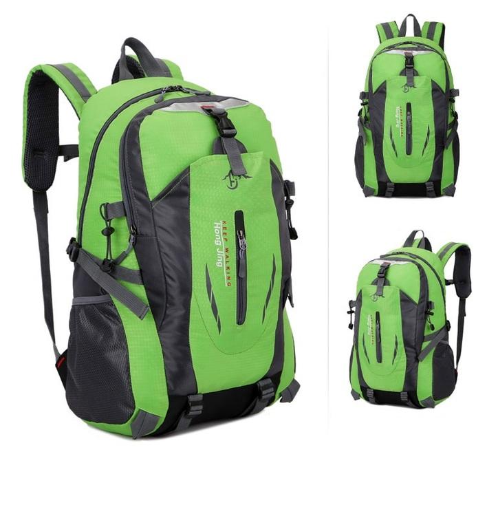 Grön Ryggsäck i sportig stil