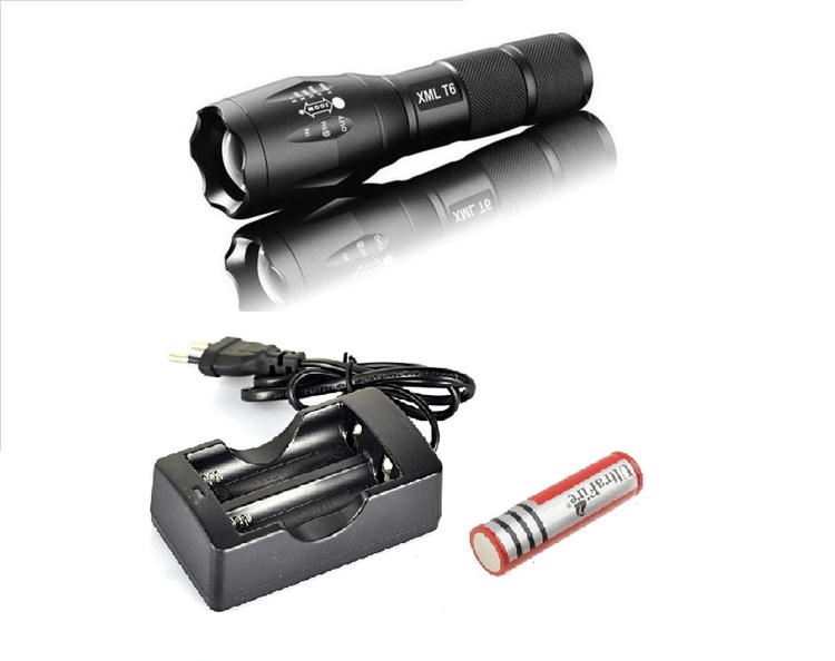 LED Ficklampa Ultrafire XM-L T6 - 3800LM