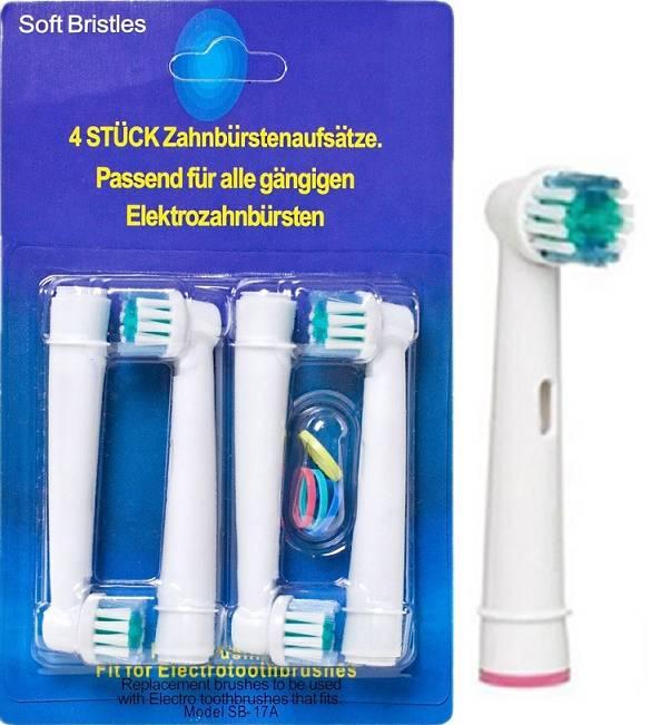 8-pack Oral-B Kompatibla Tandborsthuvuden