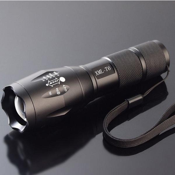 LED Ficklampa Ultrafire XM-L T6 - 2000LM
