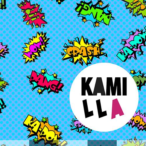 KLIPPT BIT - KA-POW BLÅ