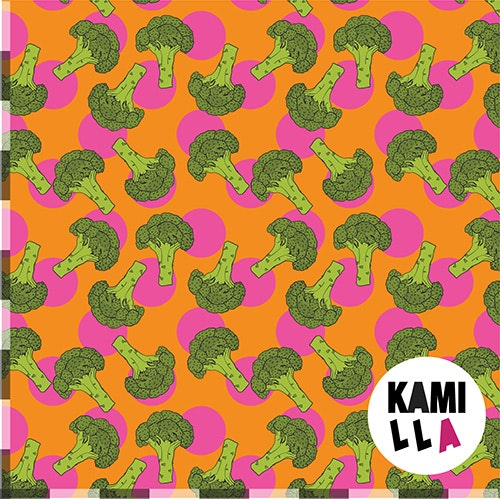 KLIPPT BIT -  Broccoli Orange/Rosa