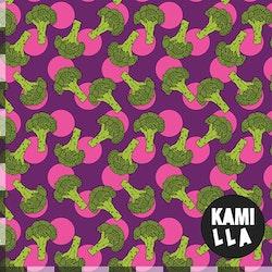 KLIPPTA BITAR -  Broccoli Lila/Rosa